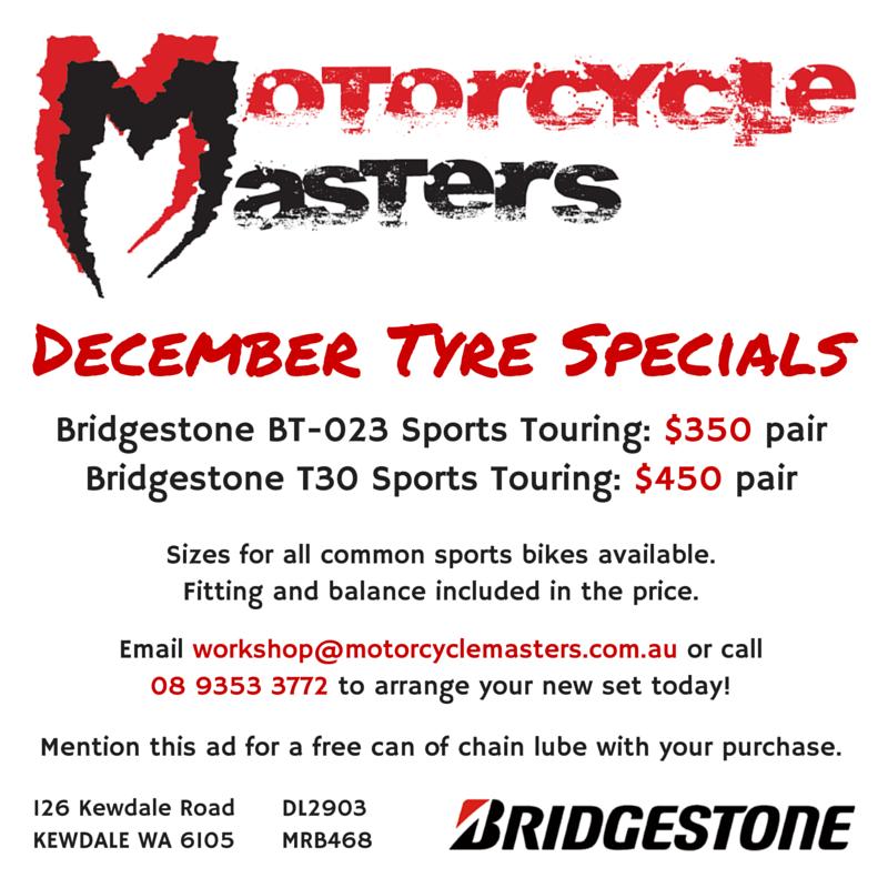 December Tyre Specials